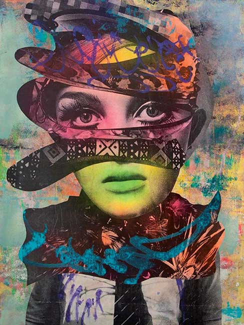 IF THE SHOE FITS, 2014 by DAIN courtesy of AVANT GALLERY
